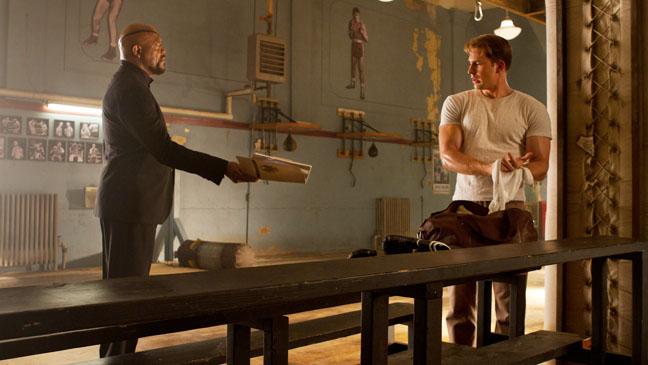 The Avengers Samuel L. Jackson Chris Evans - H 2012