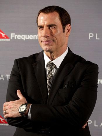 John Travolta Blue Sydney Qantas - P 2012