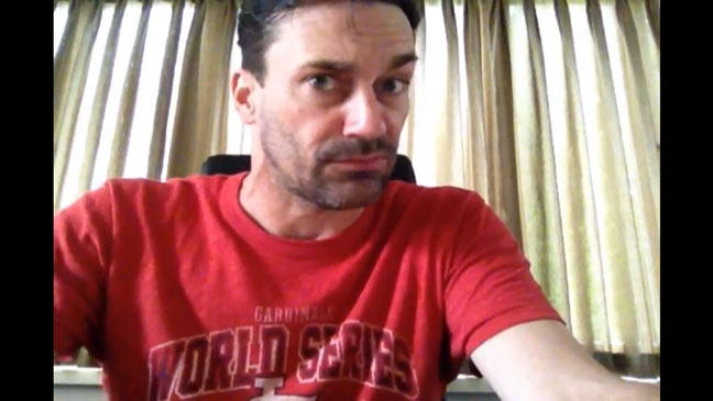 Jon Hamm Ask a Grown Man Screengrab - H 2012