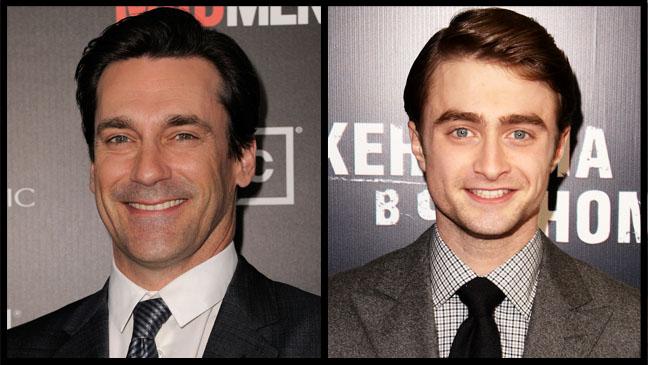 Jon Hamm Daniel Radcliffe - H 2012