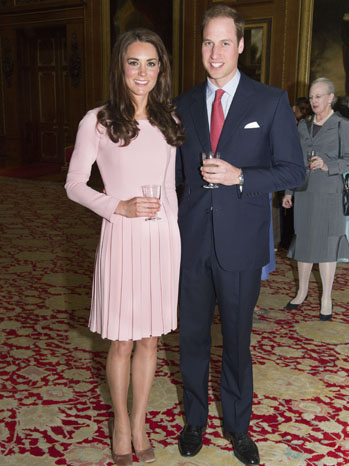 Kate Middleton Prince William Waterloo Chamber - P 2012