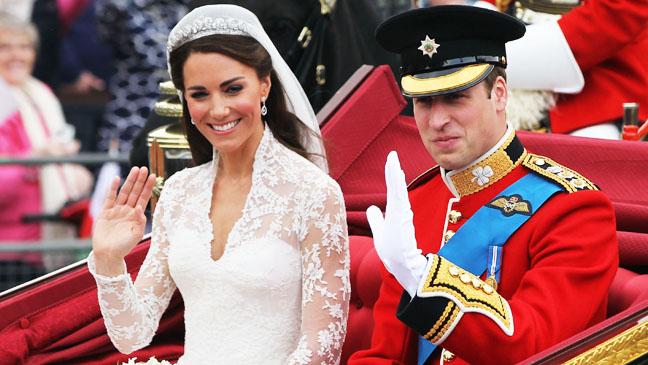 Kate Middleton Prince William Royal Wedding - H 2012