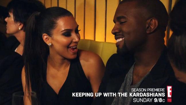 Keeping Up With The Kardashians Kim Kanye - H 2012