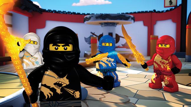 "AGES 6-11: ""Lego Ninjago: Masters of Spinjitzu"""