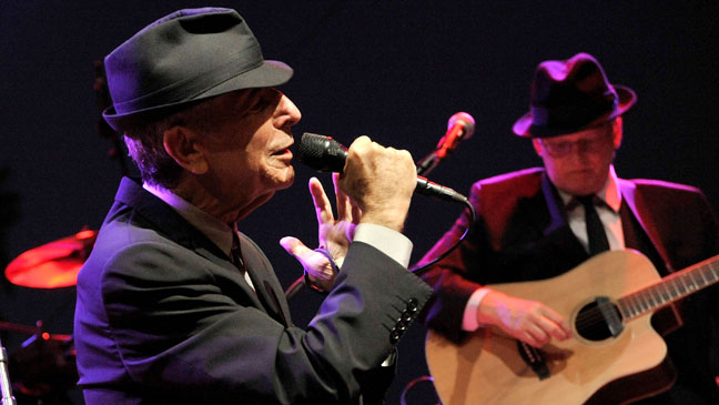 Leonard Cohen North American Tour - H 2012
