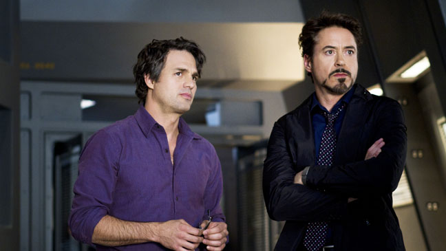 The Avengers Robert Downy Jr. Mark Ruffalo - H 2012