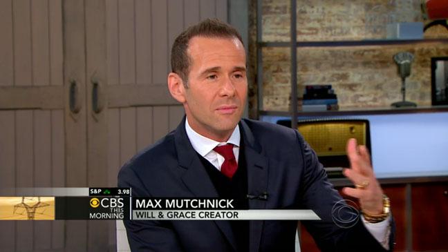 Max Mutchnick Will and Grace Creator - H 2012