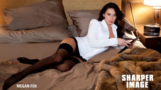 Megan Fox Sharper Image AD - H 2012