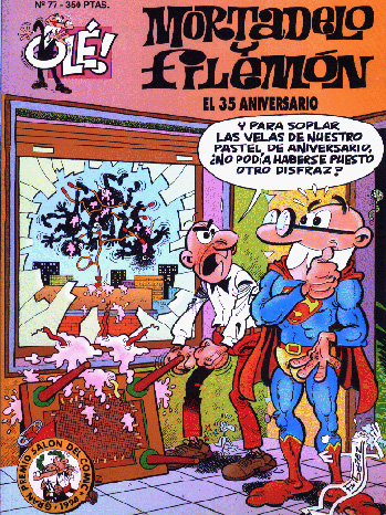 Mortadelo and Filemon Cover - P 2012