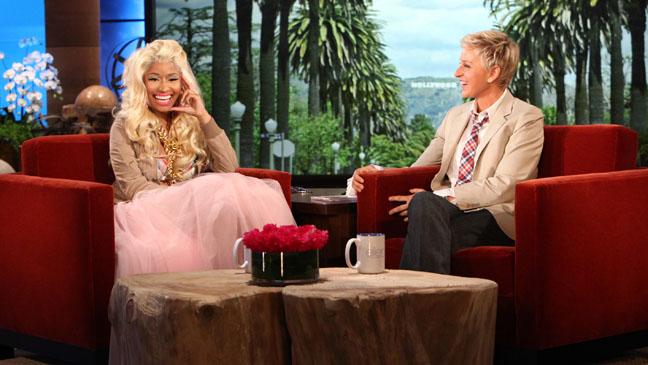 Nicki Minaj Ellen DeGeneres Show - H 2012