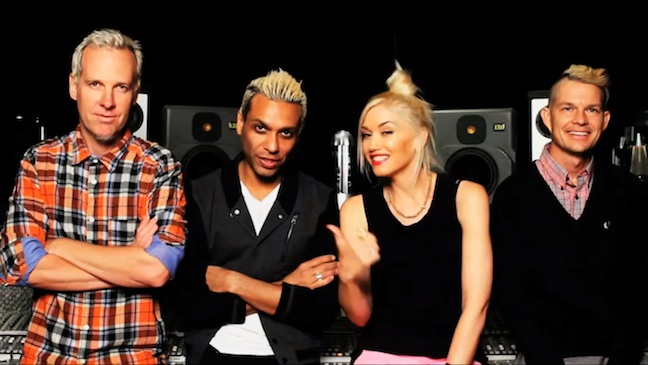 No Doubt YouTube Announcement H 2012