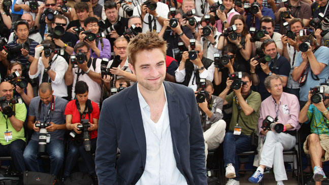 Robert Pattinson Cannes 2012