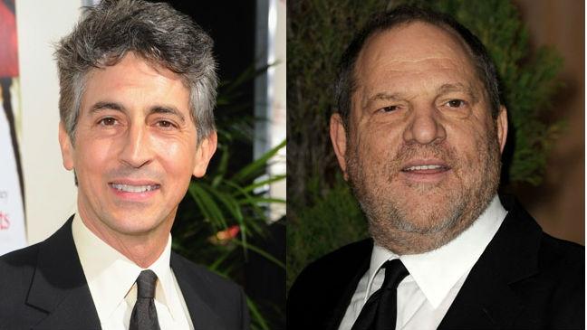 Alexander Payne and Harvey Weinstein
