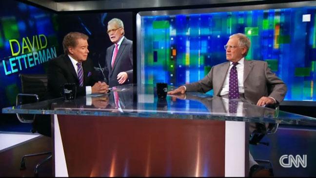 Regis Philbin David Letterman CNN - H 2012