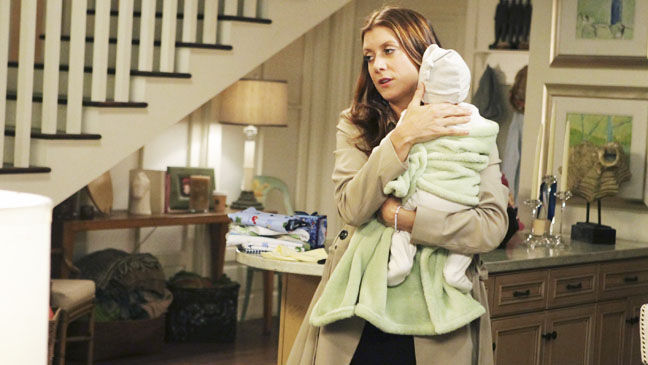 Private Practice Kate Walsh with Baby - H 2012