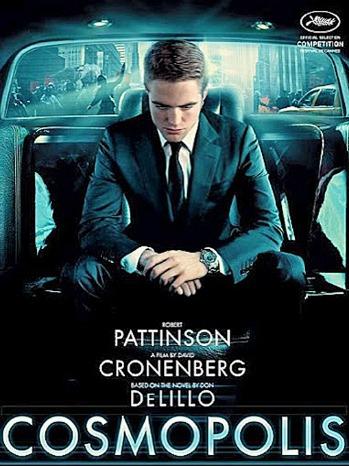 Robert Pattinson Cosmopolis Poster 2012