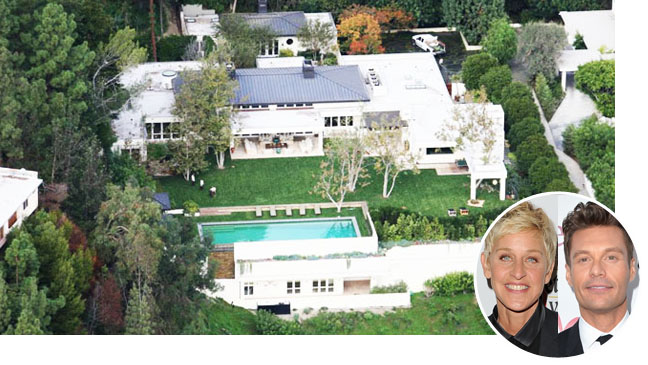 Ryan Seacrest Buying Ellen Degeneres Beverly Hills Estate Hollywood Reporter