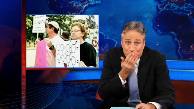 Jon Stewart Same Sex Marriage - H 2012