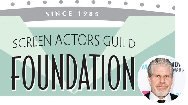 Screen Actors Guild Foundation Ron Perlman inset - H 2012