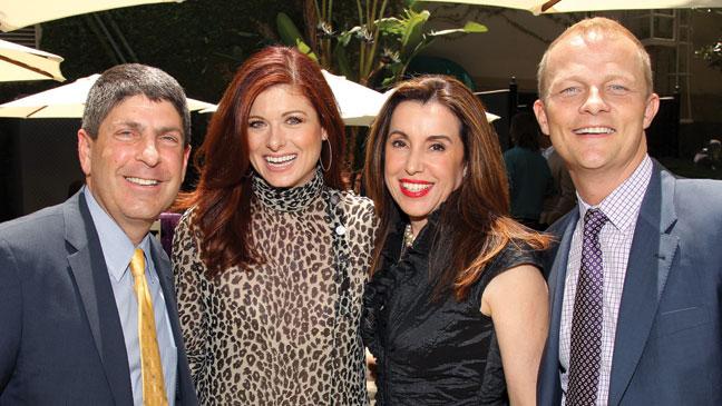 2012-18 REP L.A. Screenings Jeff Shell Debra Messing Belinda Menendez Kevin MacLellan H