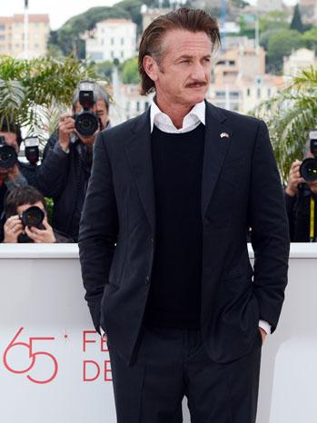 Cannes Film Festival Sean Penn - P 2012