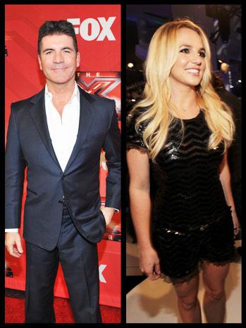 Simon Cowell Britney Spears Split - P 2012