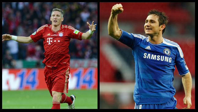 Soccer Chelsea and Bayern Munich H 2012