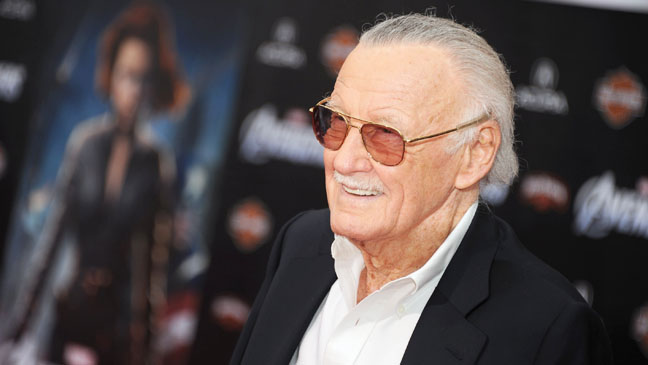 The Avengers Premiere Stan Lee - H 2012