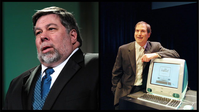 Steve Wozniak Steve Jobs Split - H 2012