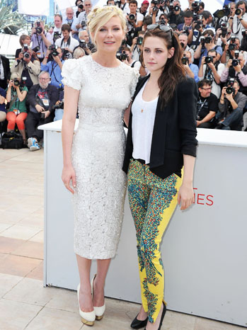Cannes On the Road Photo Call Dunst Stewart - P 2012