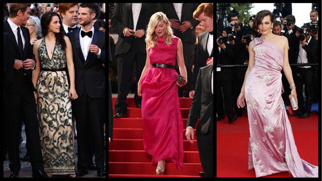 Kristen Stewart Kirsten Dunst Mila Jovovich - H 2012