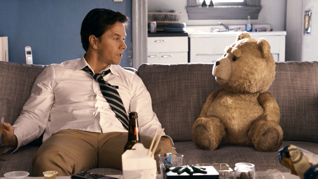 Ted Film Still Mark Wahlberg - H 2012