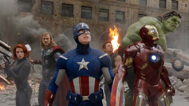 The Avengers - film still