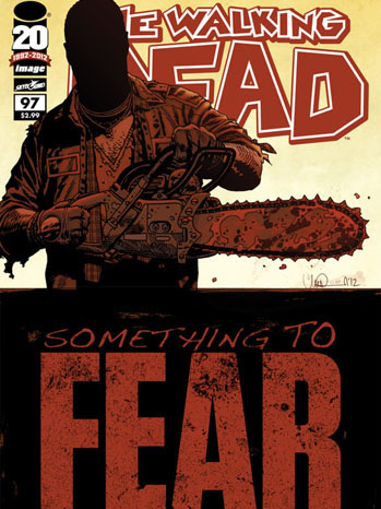 The Walking Dead 97 Something to Fear Cover - P 2012