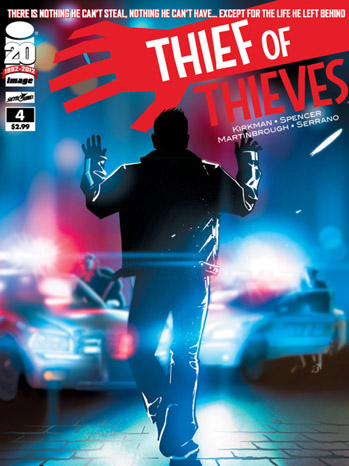 Thief of Thieves Cover Issue 4 - P 2012