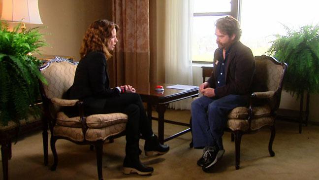 Tina Fey Zach Galifianakis Between Two Ferns - H 2012