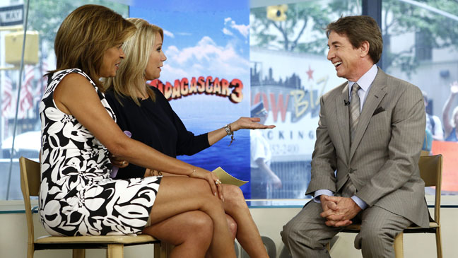 Kathie Lee Gifford Today Martin Short - H 2012