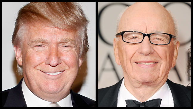 Donald Trump Rupert murdoch Split - H 2012