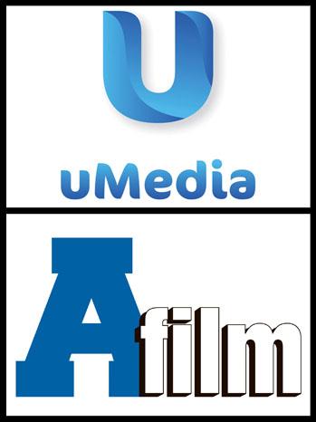 uMedia A-Film Logo Split - P 2012