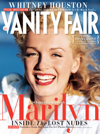 Vanity Fair Marilyn Monroe Lost Photos Cover - P 2012