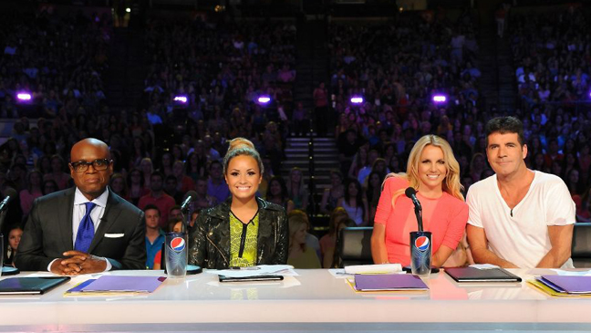 X Factor season 2 judges panel L