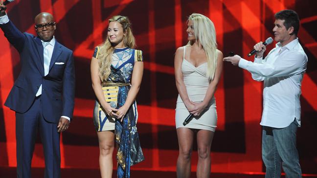 X Factor Fox upfront 2012 L