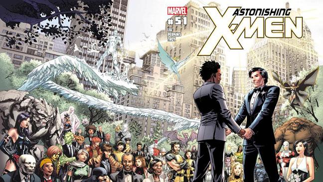 Astonishing X-Men Gay Marriage Cover - H 2012