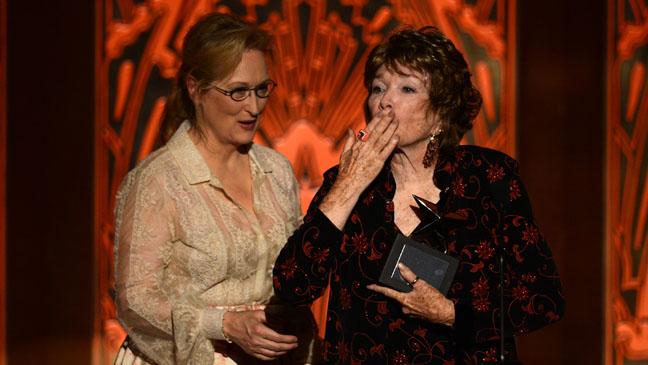 Meryl Streep and Shirely Maclaine