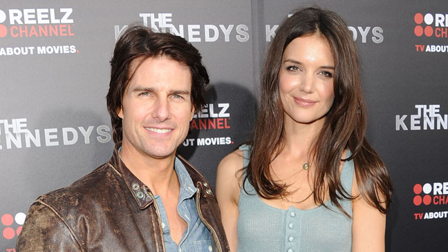 Tom Cruise Katie Holmes Kennedy's Horizontal - H 2012