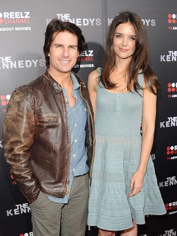 Tom Cruise Katie Holmes Kennedy's Premiere - P 2012
