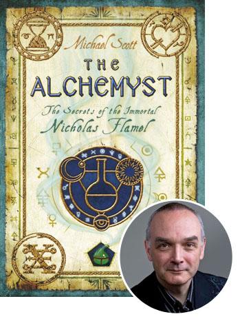 ALCHEMYST Michael Scott Inset - P 2012