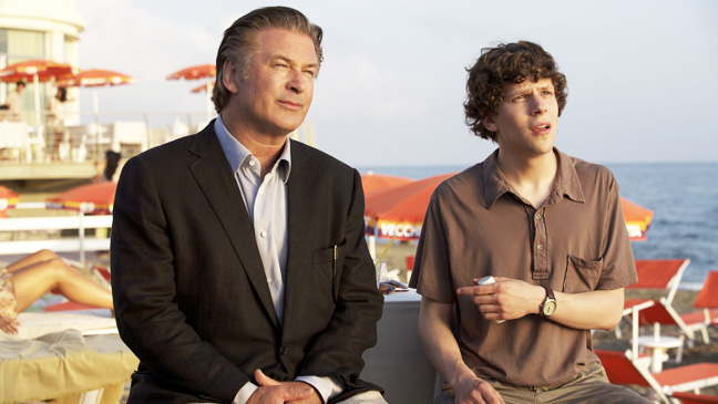To Rome With Love Alec Baldwin Jesse Eisenberg - H 2012