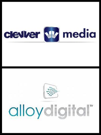 Alloy Digital Clevver Media logo Split - P 2012