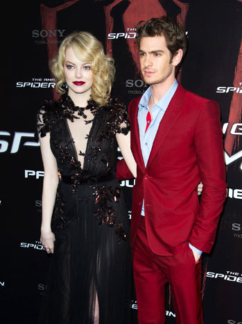 Amazing Spider-Man Paris Premiere - P 2012